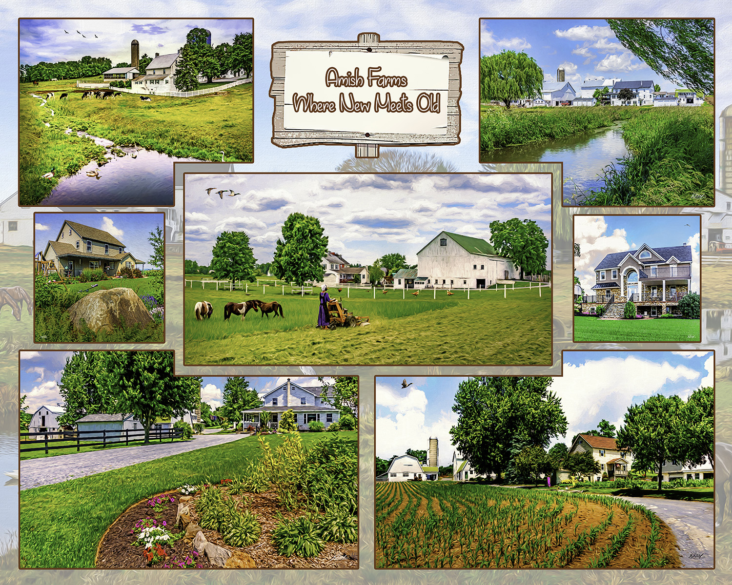 Bill Westerhoff - Amish Farms - Where New Meets Old