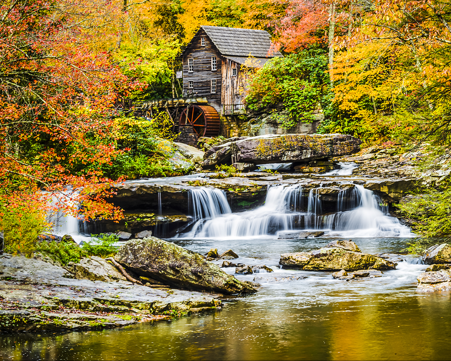 Bill Westerhoff - Glade Creek Grist Mill - Clifftop,West Virginia