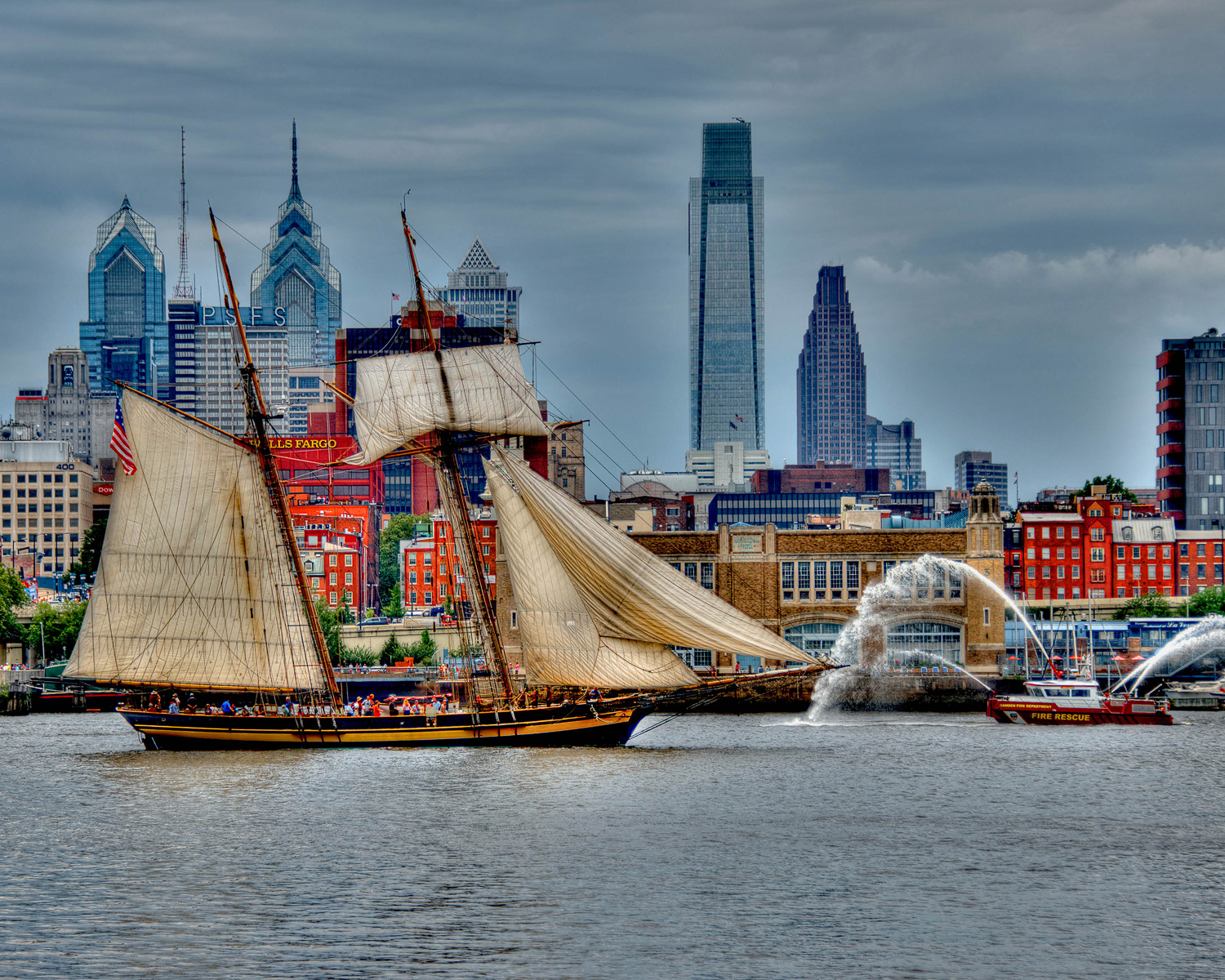 David Aloisio - Tall  Ships in Philadelphia
