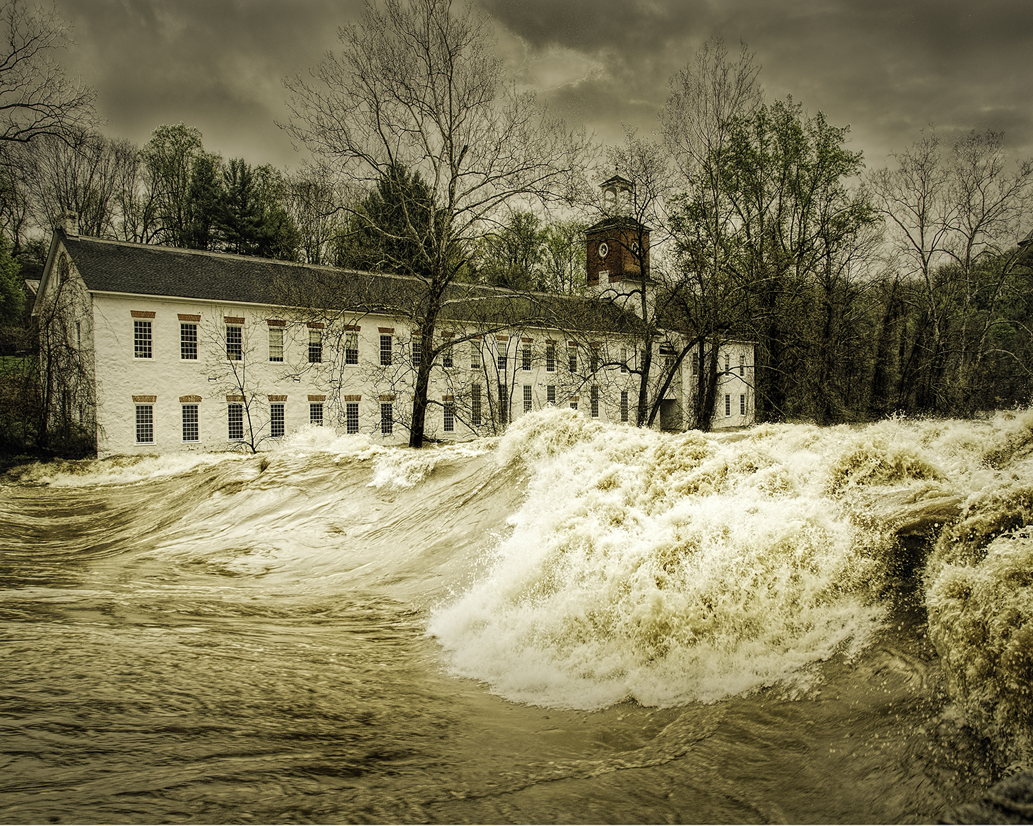 Jim Smigie - Brandywine Creek Flood - Wilmington, Delaware