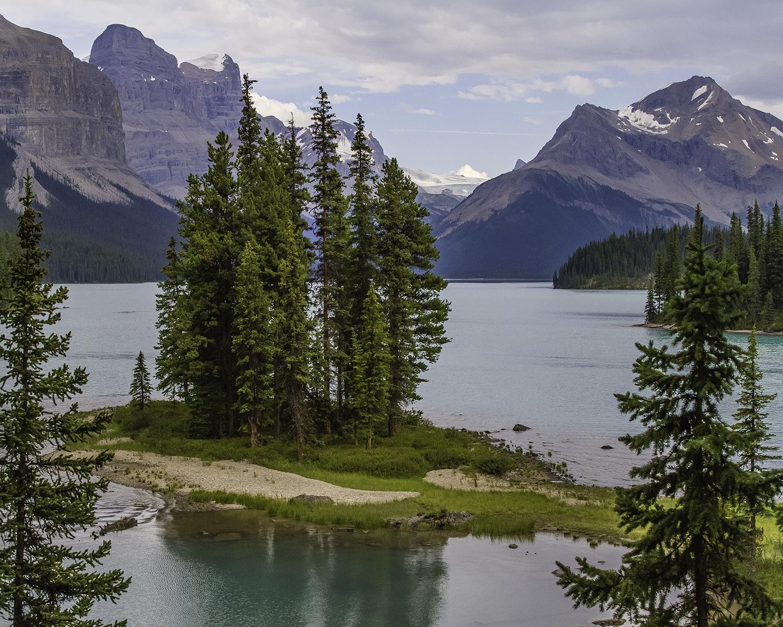 Joe Hare - Spirit Island - Alberta, Canada