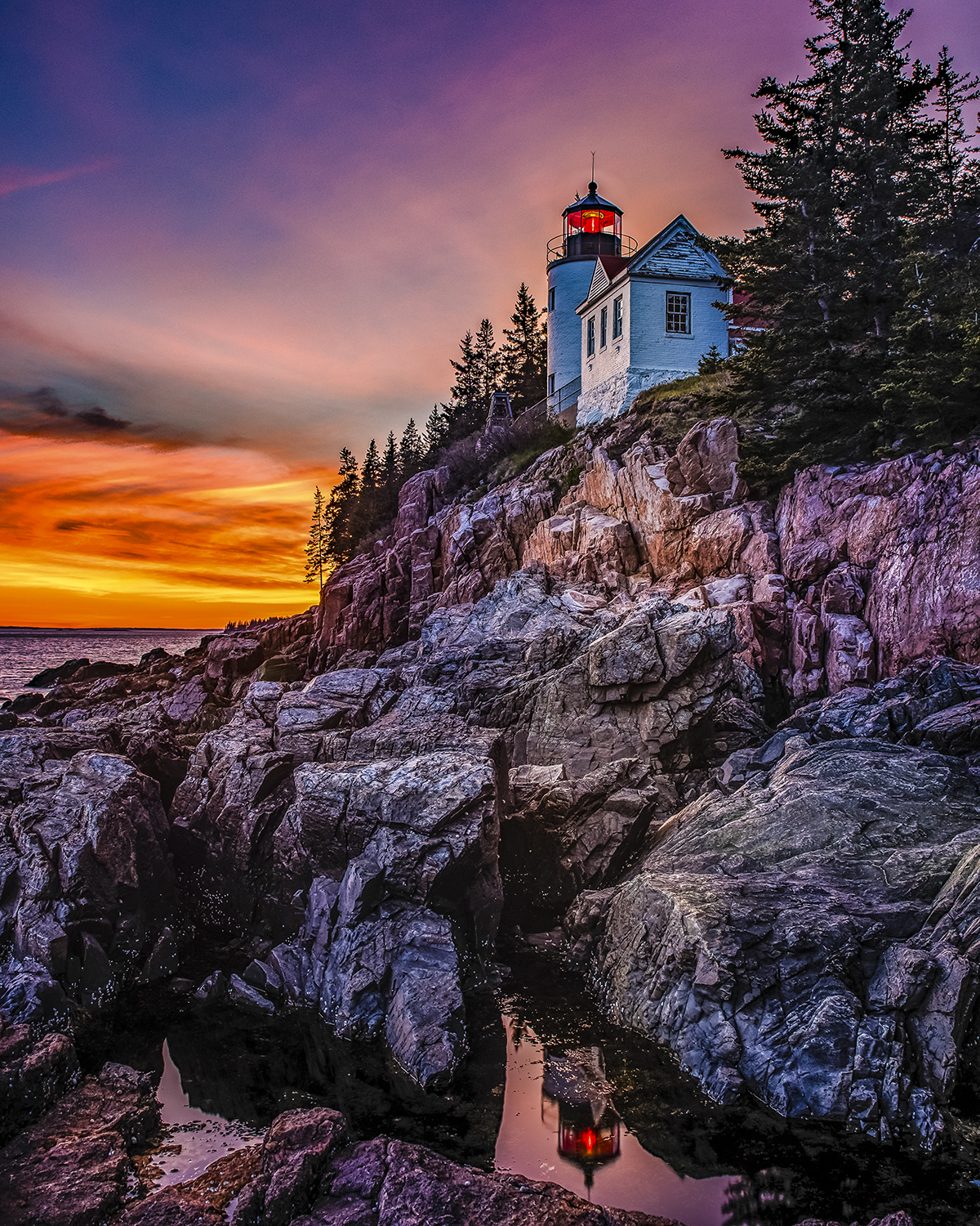 Mark Bergkvist - Bass Harbor Light Maine