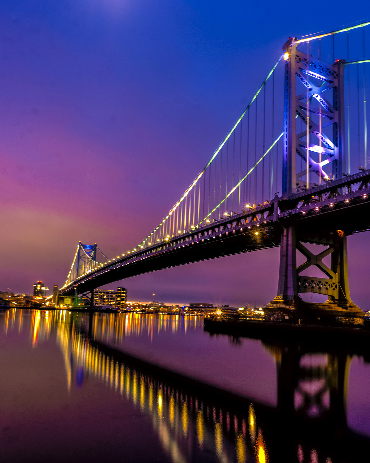 Patrick Fleury - Ben Franklin Bridge - Philadelphia, Pennsylvania