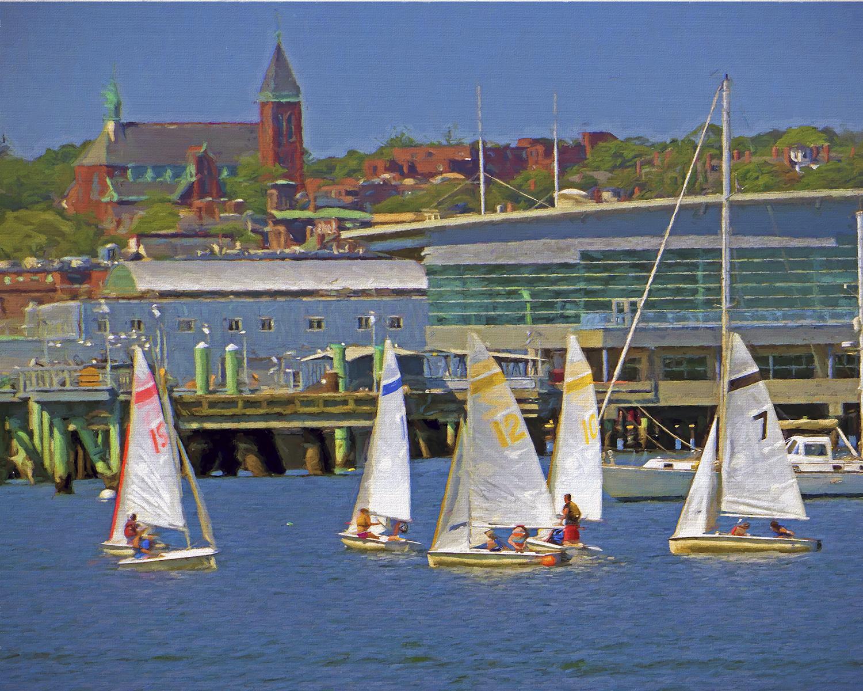 Patrick Fleury - Sailing Lessons - Portland, Maine
