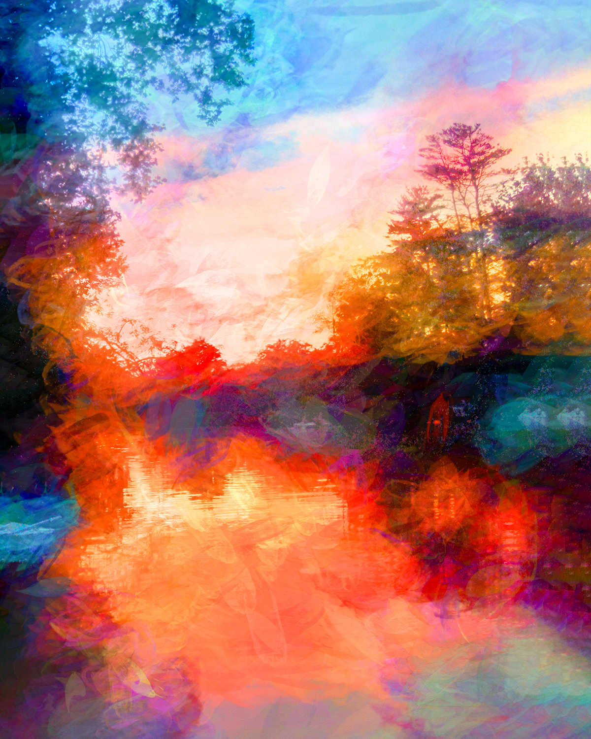 Trisha Vierling - Impressionist Sunset