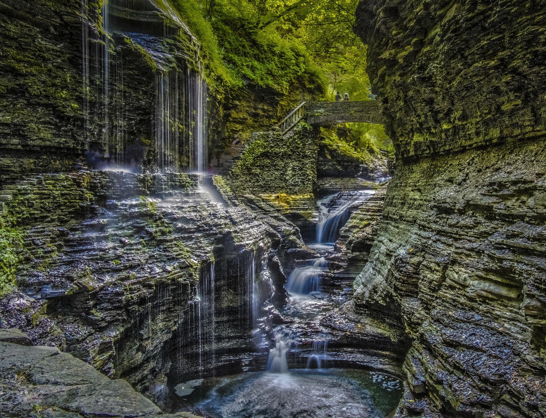Stan Saft - Watkins Glen State Park - NY