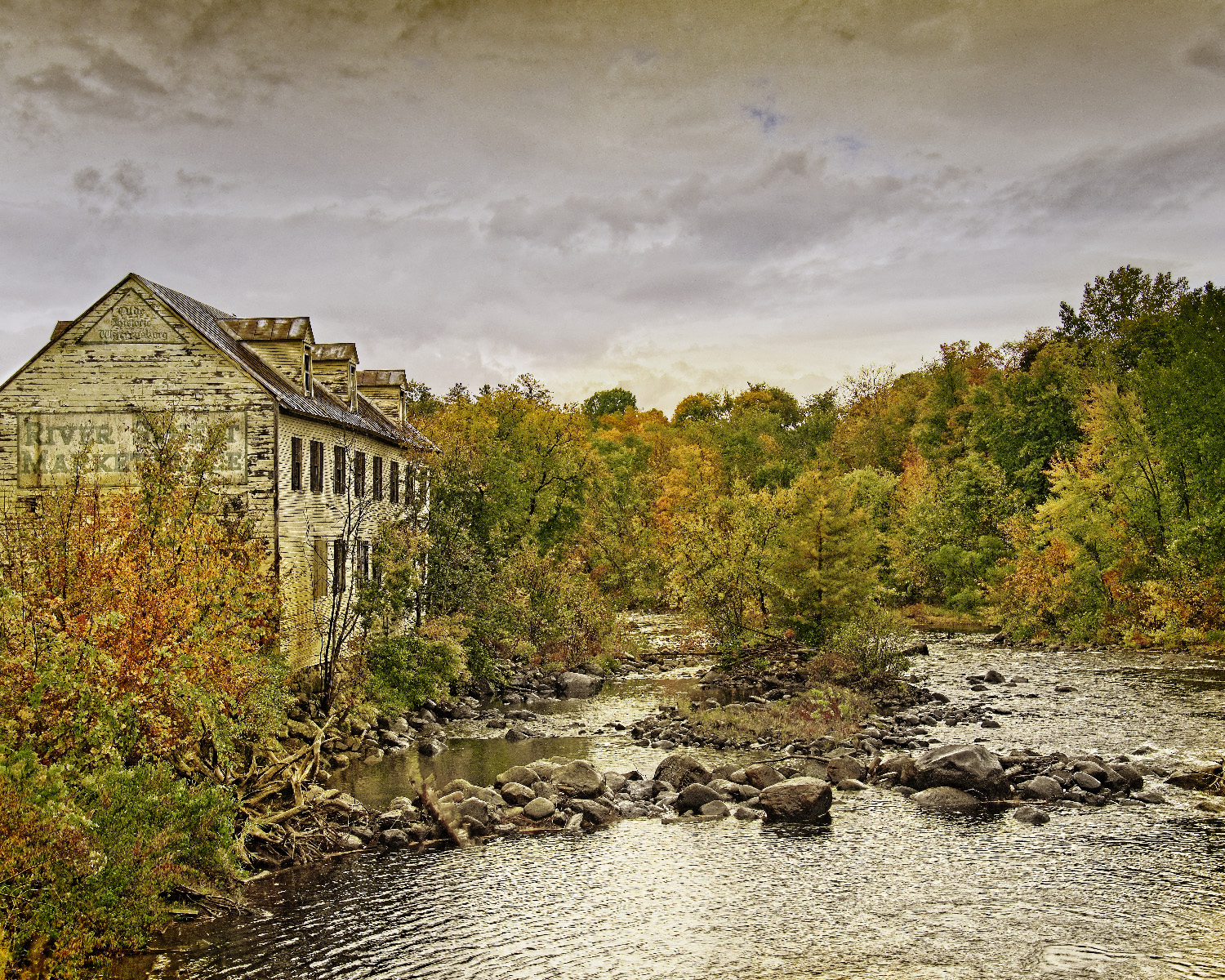 Stan Saft - Beside the River - Hudson Valley, NY