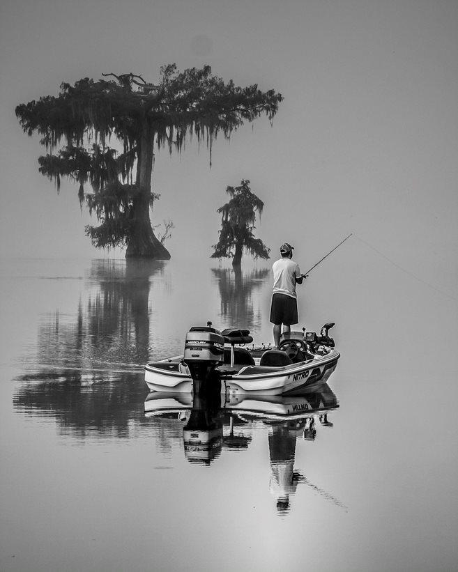 Stan Saft - Fishing, Lake Martin, Louisiana