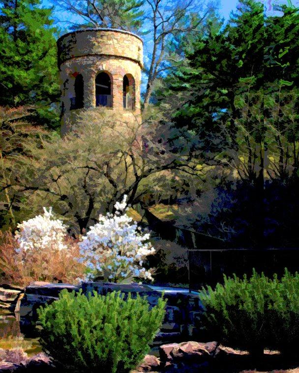 Ken Abremski - Chimes Tower, Longwood Gardens, Kennett Square, PA